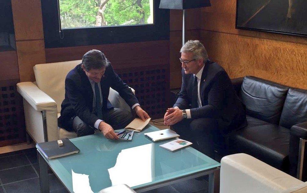 Provechosa reunión con el Presidente del Principado de Asturias